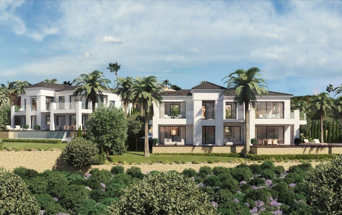 Luxurious new build villas