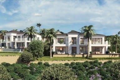 Luxurious new build villas