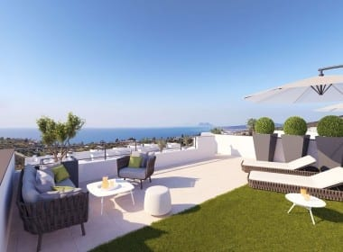 Sunrise heights Manilva Investo International albores alto estepona