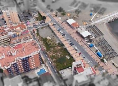 commercial beach plot Fuengirola