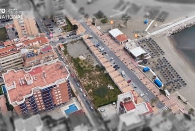 commercial beach plot Fuengirola